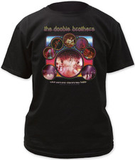 Doobie Brothers Vices Now Habits Adult T-Shirt