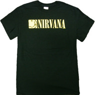 Nirvana - Boxed Smile Logo Adult T-Shirt
