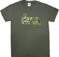 Nirvana - Textured Smiley Adult T-Shirt
