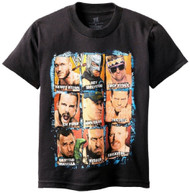 WWE Superstars Panels Youth T-Shirt
