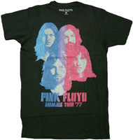 Pink Floyd Faces Adult T-Shirt