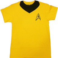 Star Trek Kirk Uniform Adult T-Shirt