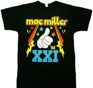 Mac Miller XXI Thumbs Up Adult T-Shirt