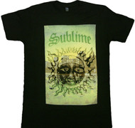 Sublime Cityscape Sun Adult T-Shirt