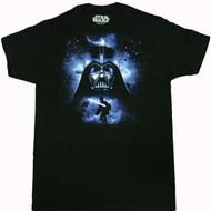 Star Wars Darth Vader Space N Vader Adult T-Shirt