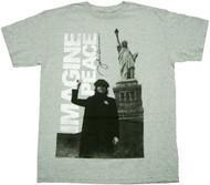 John Lennon Imagine Adult T-Shirt