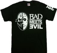 Eminem Bad Meets Evil Masks Adult T-Shirt