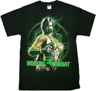 Mortal Kombat Jadein Fight Pose Adult T-Shirt