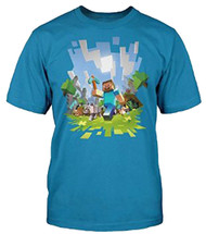 Minecraft Adventure Adult T-Shirt