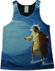Surfs Up Jesus Tank Top