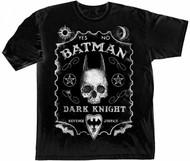 Batman The Dark Knight Quija Board Adult T-Shirt