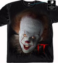 IT Movie - Illustrated Face Adult T-Shirt