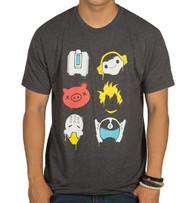 Overwatch Battle Spray Paint Premium Adult T-Shirt
