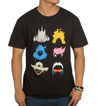 Overwatch Fighter Spray Paint Premium Adult T-Shirt