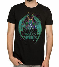 Hearthstone I Dream and The World Trembles Premium Adult T-Shirt