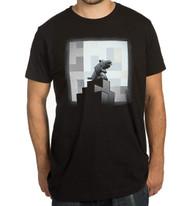Minecraft One Wolf Moon Premium Adult T-Shirt