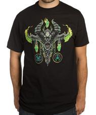 World Of Warcraft : Mythic Demon Hunter Class Premium Adult T-Shirt