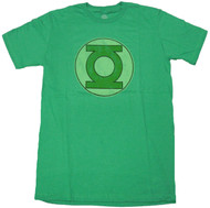 DC Comics The Green Lantern Distressed Logo T-shirt