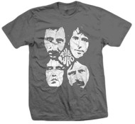 The Who Distressed Four Faces Adult T-Shirt