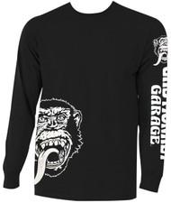 Gas Monkey Garage - Angled Monkey Face Adult Long Sleeve T-Shirt