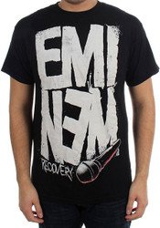 Eminem - Recovery Microphone Adult T-Shirt