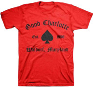Good Charlotte - GC Recreate Spade Adult T-Shirt