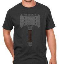 Warcraft Movie Doom Hammer Premium Cotton Adult T-Shirt
