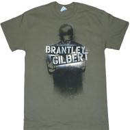 Brantley Gilbert Spray Photo Adult T-Shirt