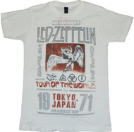 Led Zeppelin Tokyo 71 Adult T-Shirt