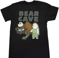 We Bare Bears - Bear Cave Adult T-Shirt
