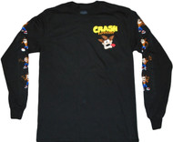 Crash Bandicoot Long Sleeve Adult T-Shirt