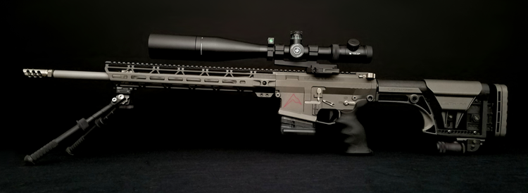 JL Billet AR Angle Cut Handguard and VPR Muzzle Brake