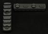 7 Slot M-Lok Rail Sections