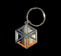JL Billet Key Chain