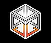 JL Logo Sticker - White