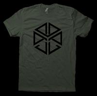 JL Billet T Shirt - Lieutenant Green