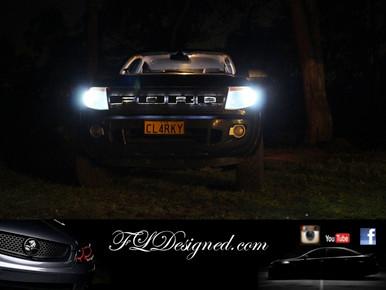 Px Ford Ranger 2012-2015 Bright White L.E.D Parker light bulbs by FL Designed aka & Ford Ranger Px and PX II 2012-2015 Bright White L.e.d Parker ... azcodes.com