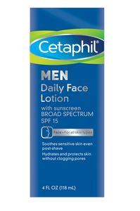 Men Daily Face Lotion with Broad Spectrum SPF 15