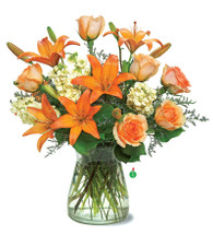 Orange Glow Bouquet