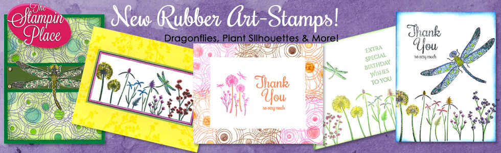 New Rubber Art-Stamps