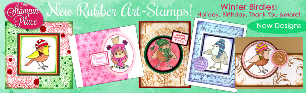 Winter Birdies! New Stamp Designs!