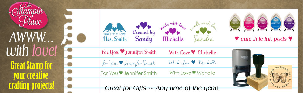Custom Stamps Make Great Gifts!