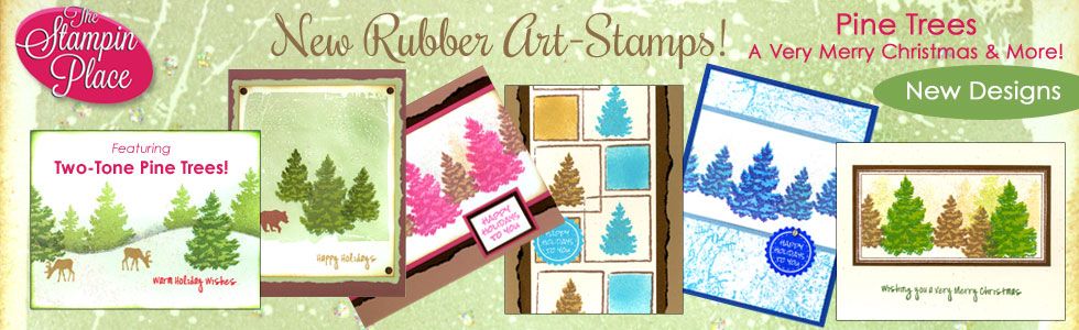 Pine Trees & More: New Stamp Designs!