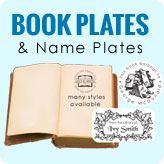 Bookplates, Book Plates, Library