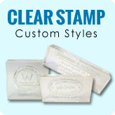 Clear Stamp Custom Styles