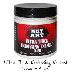 Clear Ultra Thick Embossing Enamel UTEE
