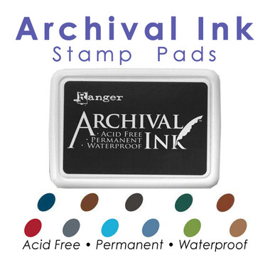 Archival Ink Stamp Pads
