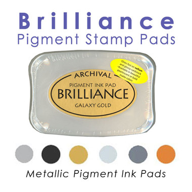 Brilliance Pigment Stamp Pads