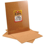 Self-Adhesive Cork Sheets 2 pack