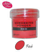 Embossing Powders: Red